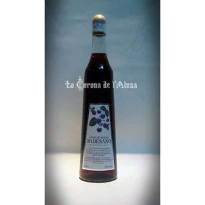 licor de Moras botella 70 cl.