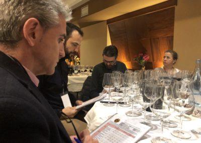 Tercera sesión de cata con los jóvenes vinos y posibles Vignerons 2019
