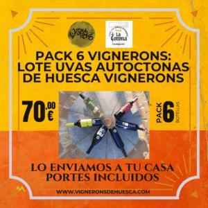 Pack 6 Vignerons